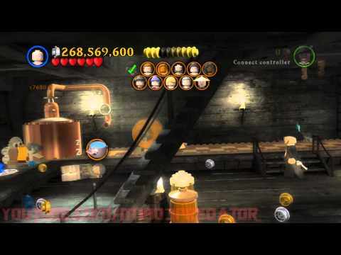 Lego Pirates Of The Caribbean Story Mode Walkthrough | Part 2 | Film 3 | Davy Jones Locker | HD