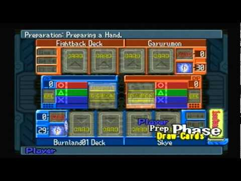 Let's Casually Play: Digimon - Digital Card Battle 20: vs. Garurumon Round2