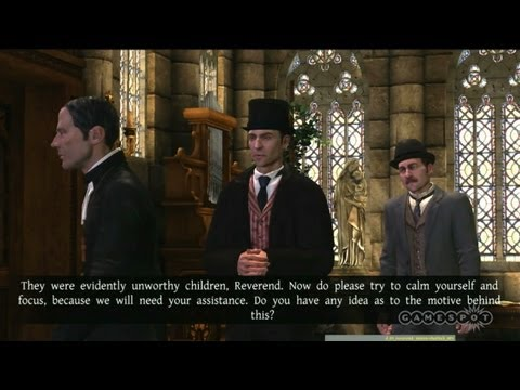 The New Adventures of Sherlock Holmes: The Testament of Sherlock - Gameplay Movie
