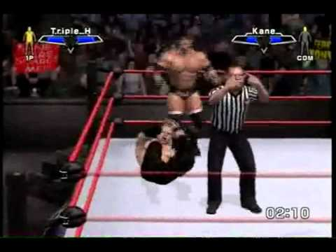 WWE Smackdown VS Raw 2007 Triple HHH vs Kane