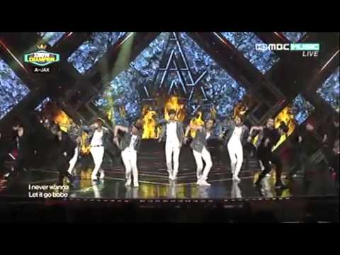 120612 A-JAX -- ONE 4 U @ MBC Show Champion ! [BackStage & Live]