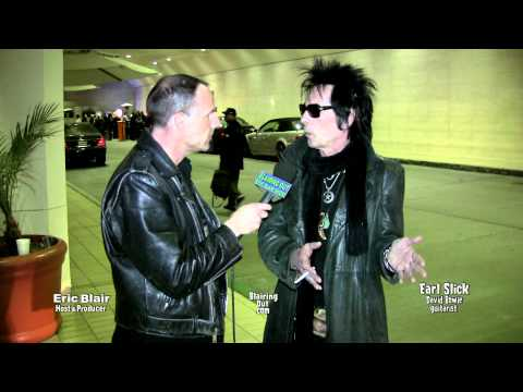 David Bowie guitarist Earl Slick talks w Eric Blair @ Namm 2012