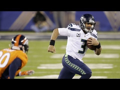 Seahawks QB Russell Wilson on Super Bowl Win  (Sports  2/25/14