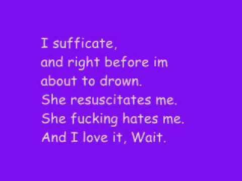 Eminem ft Rihanna - Love the way you lie with lyrics