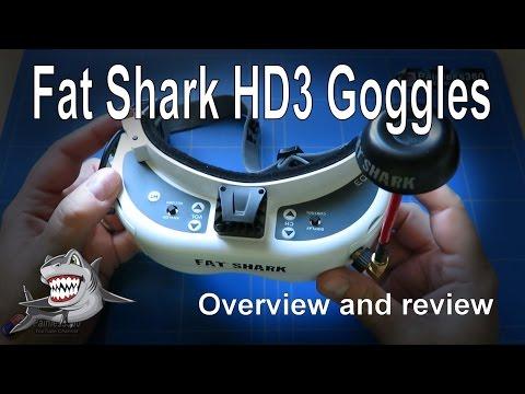 RC Reviews: Fat Shark HD3 FPV Goggle Review - UCp1vASX-fg959vRc1xowqpw