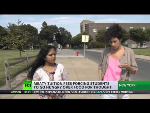 US students struggle with hunger as (tuition) skyrockets  8/10/14
