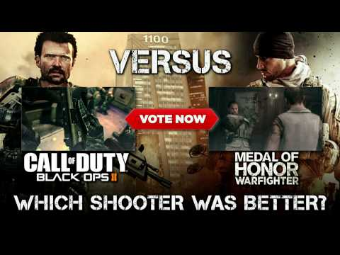 Black Ops 2 vs Medal of Honor: Warfighter: You Decide! - E3 2012 - IGN Versus