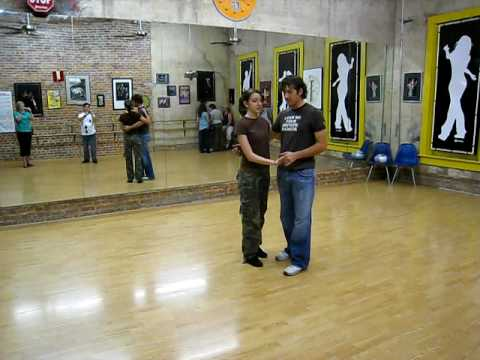 lindy hop, outside turns, reverse circle, triples forward