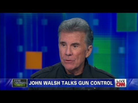John Walsh on gun control  2/19/13