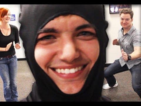 Ninja Elliott's NINJA Lesson - Behind The Scenes