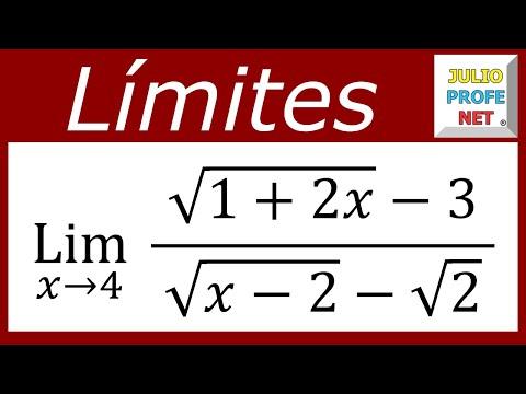 Limite con doble racionalización