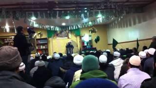 Sajid Qadri at Al Markaz Ul Islami - Bradford 10 Feb 2012 -