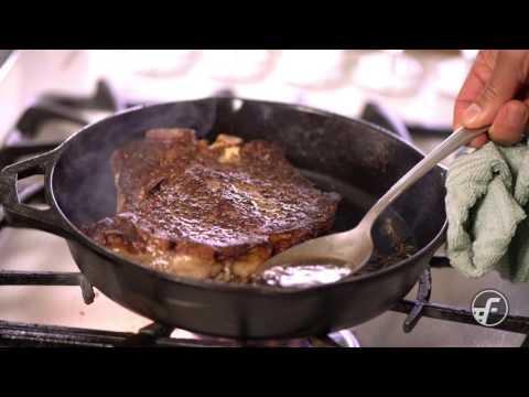 Pan Seared Butter-Basted Steak
