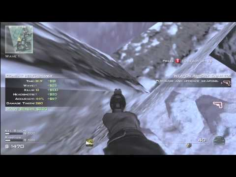COD MW3 Glitches - Survival Mode Out Post Barrier Glitch!! Online