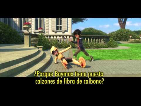 """6 Grandes Héroes (BIG HERO 6) Tráiler en Español con """"Immortals"""" de Fall Out Boy"""