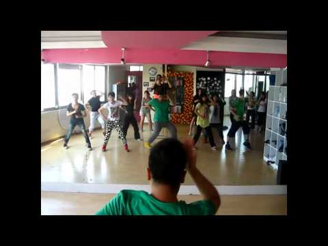 "Lady gaga""Judas""jazz funk dance choreography by Kevin Shen @ISHOW ,Nanjing ,China"