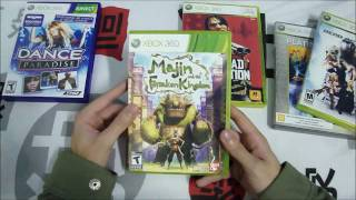 Unboxing Jogos Variados para Xbox 360/Kinect & PSP (Pt-Br) - CJBr view on youtube.com tube online.