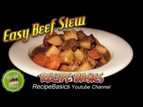 Easy Beef Stew Recipe - Slow Cooker Recipe