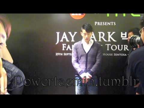Jaebeom Fanmeet at Paragon in Singapore (2010.09.24) #1