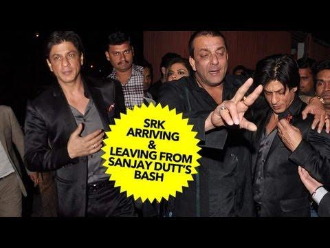 Shah Rukh Khan Didn't Arrive Drunk At Sanjay Dutt's Bash