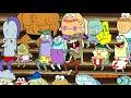 Фрагмент с начала видео Губка Боб Квадратные Штаны | Моя нога! | Nickelodeon Россия