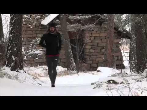 The Runner In Winter - Anton Krupicka