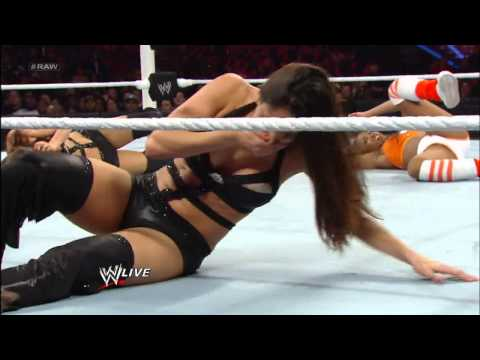 The Funkadactyls vs. The Bella Twins: Raw, April 1, 2013