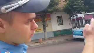 У маршрутки в Житомире на ходу отвалилось колесо