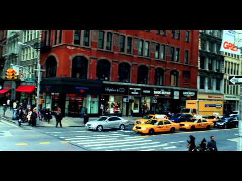 Royalty Free Stock Footage of People on the corner of 5th Avenue in Manhattan, New York City.