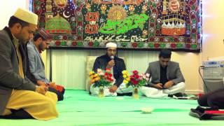 Hafiz Ahsan Amin Recitating Holy Quran Adnan house Mehfil-e-Milad 08-03-2012