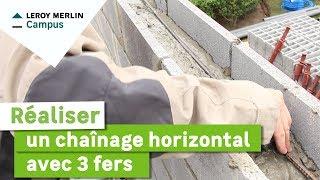 Comment Realiser Un Chainage Horizontal Avec 3 Fers Leroy Merlin Youtube