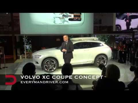 Debut: Volvo XC Coupe Concept Car on Everyman Driver