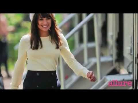 Lea Michele - Allure Magazine Cover Shoot Dec. 2011