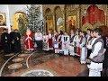 Grupuri de colindători l-au colindat de Părintele Episcop Lucian