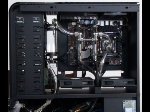 Singularity Computers Client Build 4 - TJ11 Extreme Water-cooling: Part 3