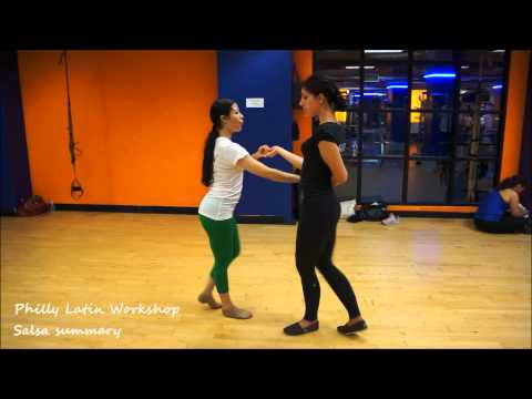 Alien Ramirez Philly Latin Dance workshop - Salsa summary