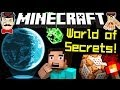 minecraft secret world! hidden features in latest snapshot!