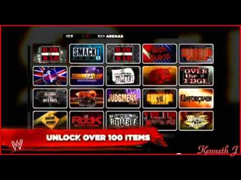 WWE 13 Game - All Attitude Arenas