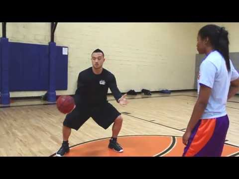 Basketball Training: New Diggins Series/D.Rose Step back ft Bri Womack (Central AZ & Sac HIgh)