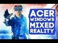 НЕ Смешанная реальность. Обзор VR-шлема Acer Windows Mixed Reality.