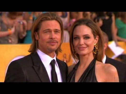 Brad Pitt, Angelina Jolie Say 'I Do' in Private Ceremony