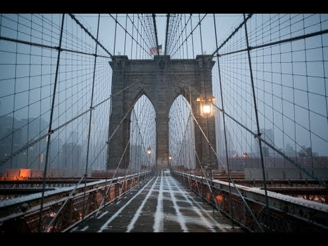 "New York  HD - ""Afterglow"" Winter - Canon 5D2, Time lapse, Glidecam"