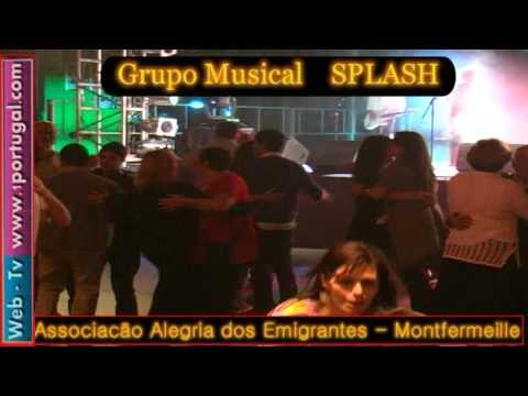 SPLASH grupo musical Alegria dos Emigrantes Montfermeille N12