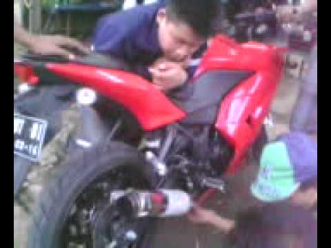 Knalpot ninja 250 test suara