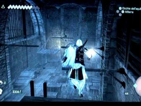 Assassin's Creed Brotherhood gameplay-macchine di Leonardo : Cannone Navale