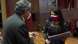"""ACTO DE RECONOCIMIENTO A TITULADOS DE LA CARRERA DE MEDICINA 25 AÑOS """"PROMOCIÓN DE PLATA – 1996"""""""