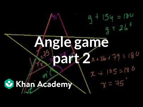 Angle Game (part 2)