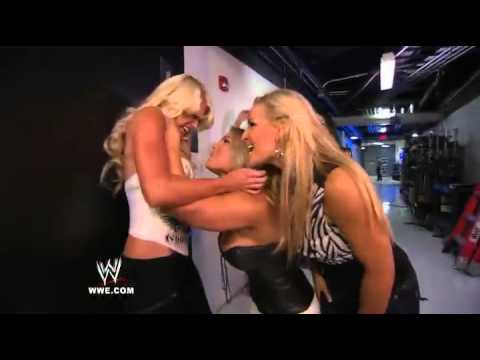WWE.com Exclusive: Beth Phoenix and Natalya ambush Kelly Kelly in the locker room area
