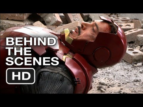 The Avengers - Raw B-Roll #4 (2012) HD