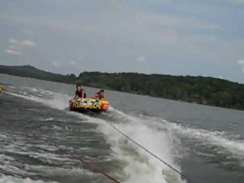 Tube war Maggie Noah Seth mild ride 9/3/12